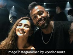 Krystle D'Souza, Trolled For Posting '<I>Mere Bhai</i>' Pic With Hardik Pandya, Jumps To His Defence