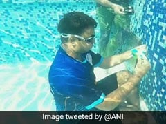 Mumbai Man Solves Rubik's Cube Under Water, Enters Guinness Record