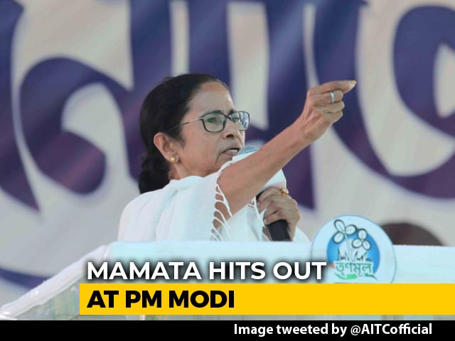 "Video : Mamata Banerjee's ""Quit India"" Parallel For Battle Against PM Modi"