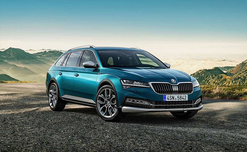 The Skoda Superb Scout is the cross-estate version of the Superb sedan.