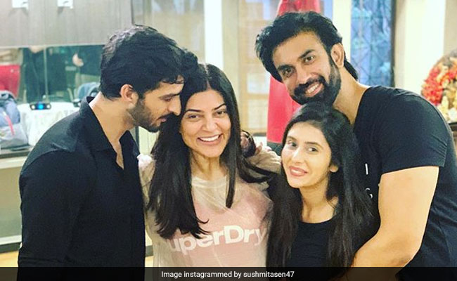 Sushmita Sen 'Can't Wait' For Brother Rajeev's Wedding After His Engagement With Charu Asopa