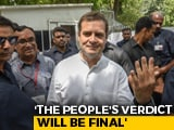 "Video: ""...But Love Will Win"": Rahul Gandhi Jabs PM Modi After Voting In Delhi"
