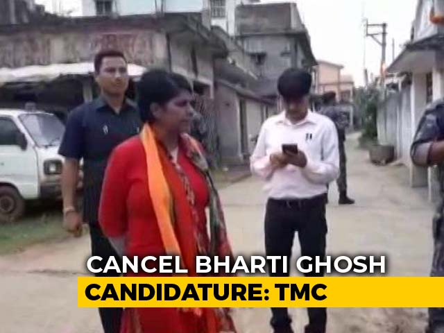 "Video : ""Will Thrash Them Like Dog"": BJP's Bengal Candidate Threatens Trinamool"