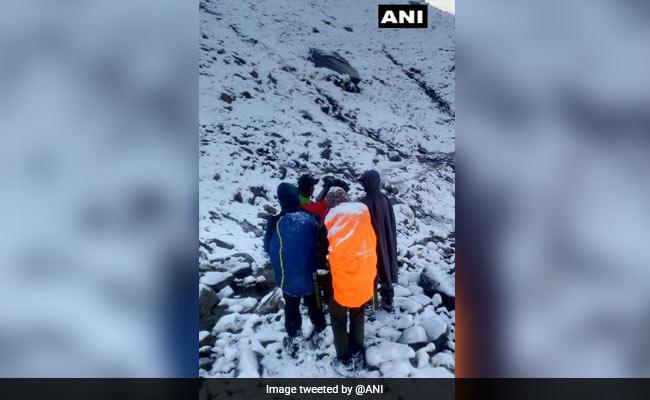 Trekker Dies, 4 Others Rescued In Himachal Pradesh's Kinnaur