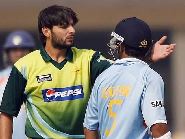Gautam Gambhir lashes out at Shahid Afridi on his Kashmir comment