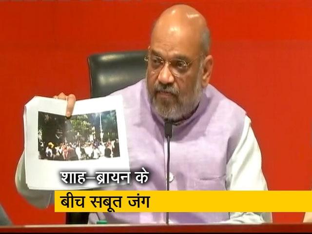 Videos : अमित शाह के सबूतों के बाद TMC प्रवक्ता ने पोस्ट किया उग्र बीजेपी कार्यकर्ताओं का वीडियो