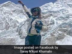 Saray Khumalo Becomes The First Black African Woman To Conquer Everest