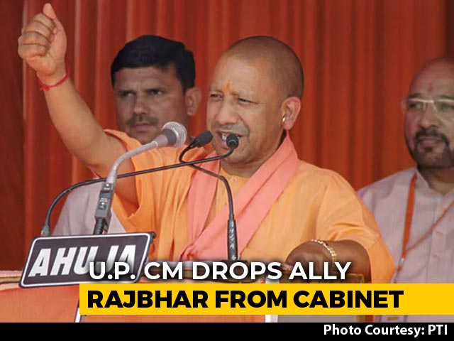 Video : Day After Exit Polls, Yogi Adityanath Removes BJP Ally From UP Cabinet