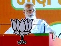 पीएम मोदी ने कहा, 'कांग्रेस ने किया 1984 में पाप, मोदी सरकार ने दिलाया इंसाफ'