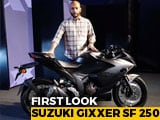 2019 Suzuki Gixxer SF 250 First Look
