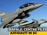 "Video : On Leaked Rafale Papers, Centre Talks Of ""Repercussions On Indian State"""