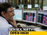 Video : Sensex Gains Over 200 Points As Markets Soar To All-Time Highs