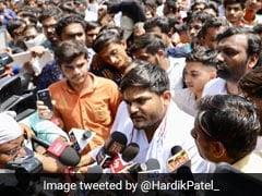 Hardik Patel Detained On Way To Meet Jailed Ex-IPS Officer Sanjiv Bhatt