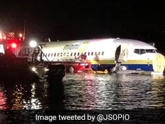 Boeing 737 With 143 On Board Falls Into River In US, 21 Injured