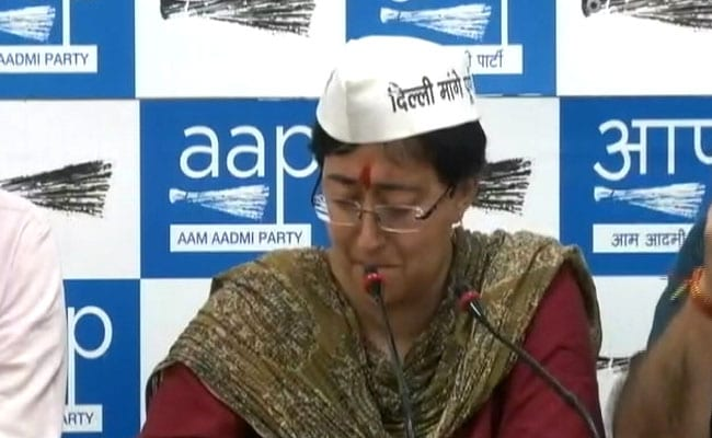 Women's Panel Notice To Delhi Police Over Pamphlets Against AAP Leader Atishi