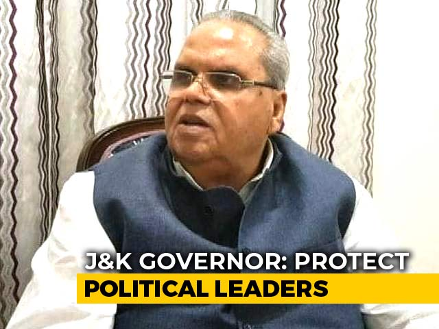 Video : Jammu And Kashmir Governor Orders Probe Into Killing of Political People