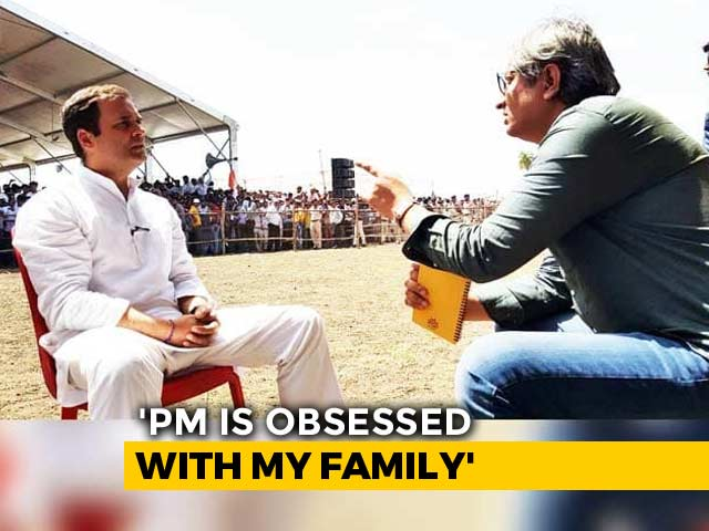 "Video : ""I Know My Family's Truth, Say What You Will"": Rahul Gandhi To NDTV's Ravish Kumar"