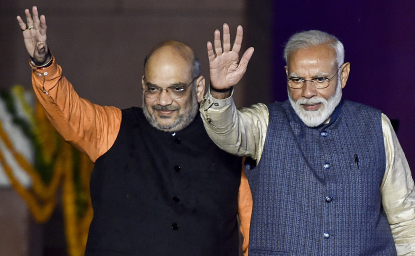 Poll of Exit Polls 2019: कांग्रेस को फिर झटका- महाराष्ट्र और हरियाणा में एक बार फिर बन सकती है BJP की सरकार