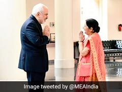 "Sushma Swaraj Holds ""Constructive"" Talks With Iran's Foreign Minister"