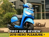 Video : 2019 Hero Pleasure Plus 110 First Ride Review