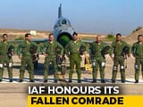 "Video : IAF Chief Leads ""Missing Man"" Formation In Honour Of Kargil Braveheart"