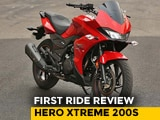 Video : Hero Xtreme 200S: First Ride Review