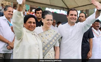 Mayawati To Meet Sonia Gandhi, Rahul Tomorrow Ahead Of Election Results
