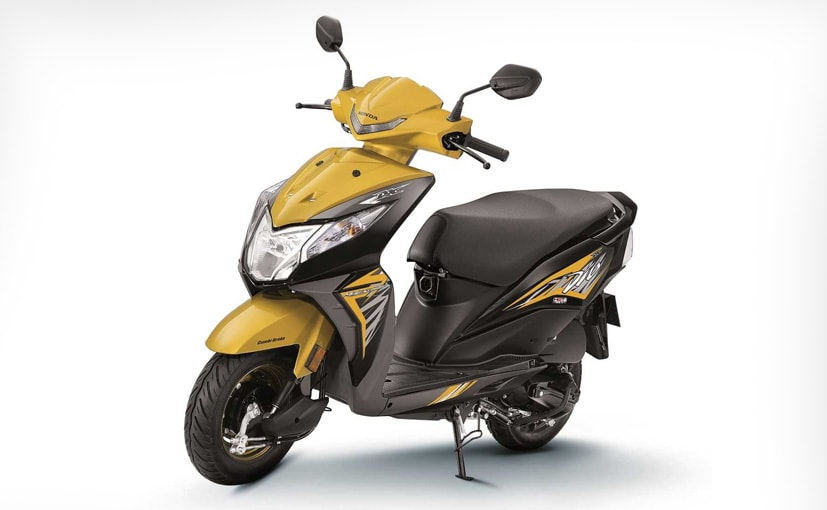 Prices for the Honda Dio start at Rs. 52,938 (ex-showroom, Delhi)