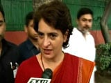 Video : We Respect People's Verdict, Says Priyanka Gandhi, Congratulates BJP And PM