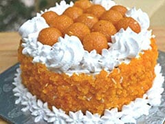 7 Kg Laddoo Cake, Lotus-Shaped Sweets As BJP Prepares For Comeback
