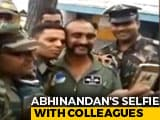 Video : IAF Pilot Abhinandan Varthaman Poses For Selfies With Colleagues