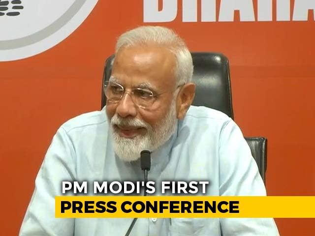 Will Return With Full Majority: PM Modi In First Press Conference