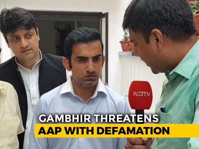 Video : Defamation vs Defamation In AAP-BJP Pamphlet War Ahead Of Delhi Vote