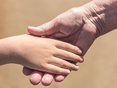 Handshake Or Hug For Students By Principal Before Classes