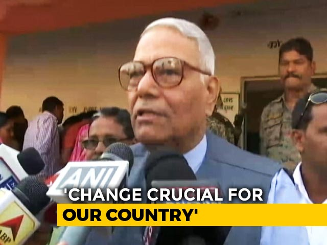 Video : Development A Continuous Process, Says Yashwant Sinha As India Votes Today
