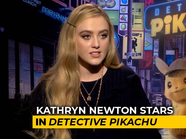 Kathryn Newton On Playing A Journalist In Detective Pikachu