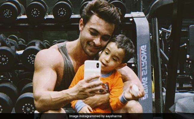 Little Ahil 'Wants Muscles' Not Like Salman Khan's But Like The Hulk's