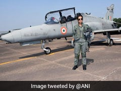"""Flight Lt. Mohana Singh Is First Woman To Become """"Fully Operational"""" On Hawk Jet For Day Ops"""