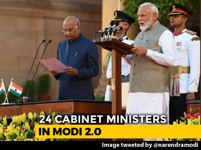 Video : Over A Dozen New Faces In PM Modi's Council Of Ministers