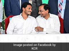 "At Jagan Reddy's Oath Ceremony, KCR's Message On ""Love, Cooperation"""