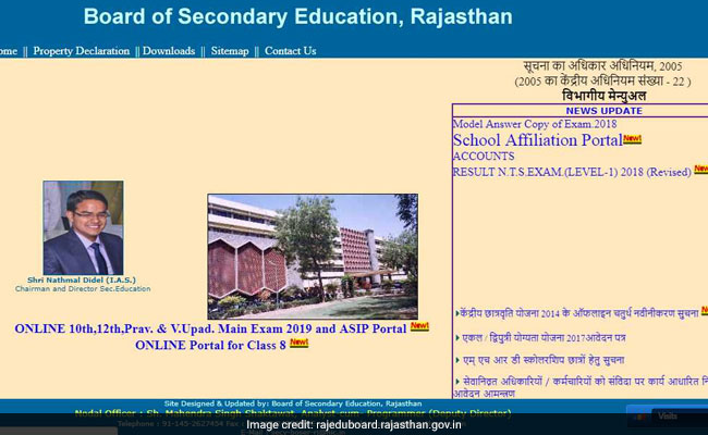 RBSE 8th Result 2019: Check Rajasthan Board 8th Result today