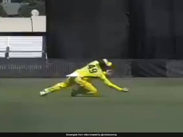 Watch: Steve Smith Announces Australia Return With Stunning One-Handed Catch In World Cup Warm-Up