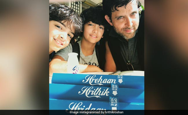 'Follow Your Bliss': Hrithik Roshan And Sussanne Khan's Adorable Birthday Wishes For Son Hridaan