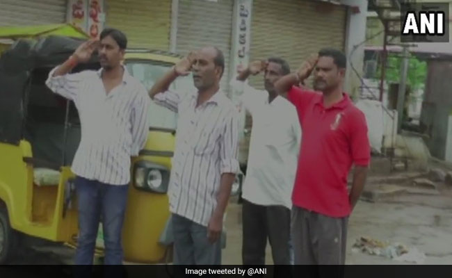 As Part Of Daily Routine, Telangana Town Sings National Anthem Everyday