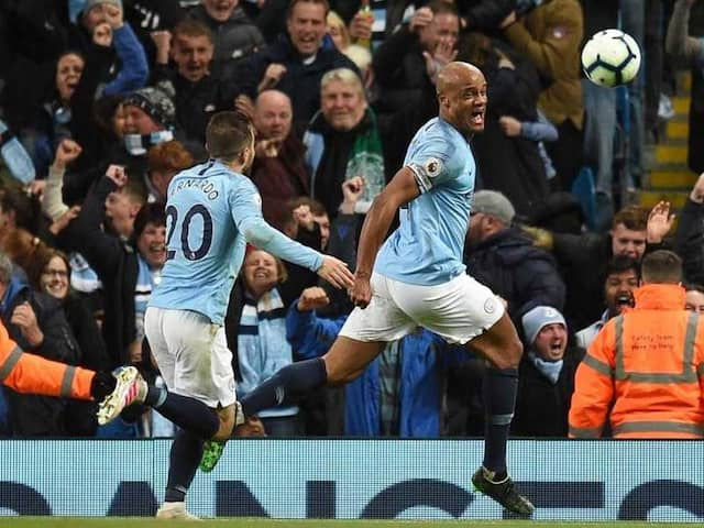English Premier League: Manchester City Moved Back One Point Clear Of Liverpool