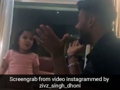 एम एस धोनी की बेटी जीवा ने ऋषभ पंत को सिखाई 'अ, आ, इ, ई...',  इंटरनेट पर छाया VIDEO