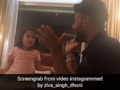Watch: Ziva Dhoni Gives Hindi Lessons To Rishabh Pant