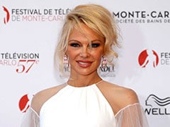 """I Love Him"": Pamela Anderson Visits Julian Assange In Prison"
