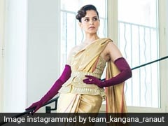 Cannes 2019: Kangana Ranaut's <I>Saree</i> Was Lovely. The Gloves, Not So Much
