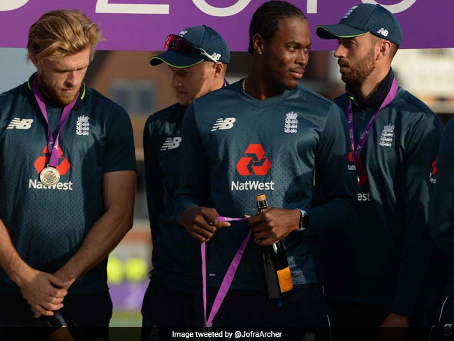 Jofra Archer Included As England Announce 15-Member World Cup 2019 Team